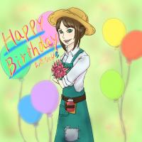 エマちゃん、お誕生日おめでとう!