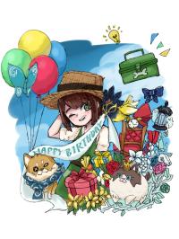エマちゃん!happy birthday!