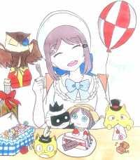 エマちゃん誕生日おめでとう