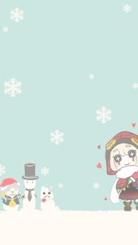 赤ずきんトレイシーちゃんと雪だるま(少しのクリスマス...
