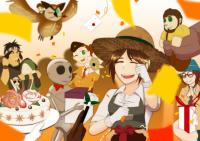 とある庭師の祝賀会