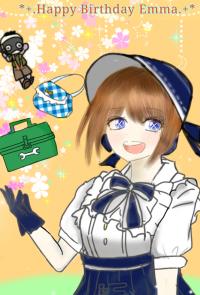 Happybirthdayエマちゃん!!