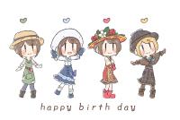 happy birthday エマ